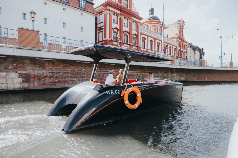 Bootstour auf der Oder mit Stadtführer
